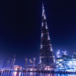 Amazing night Dubai with Burj Khalifa